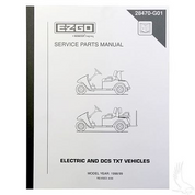 Service Manual for EZGO DCS Electric 1998-1999