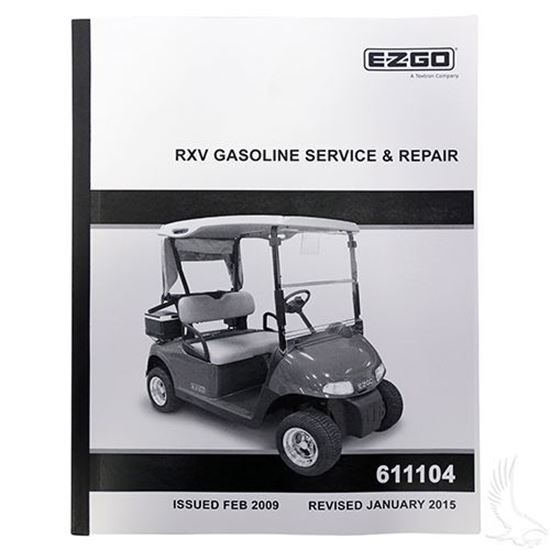 Service Manual For Ezgo Rxv Gas Golf Cart Tire Supply