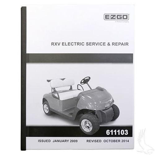 free ezgo golf cart manuals