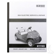 Service Manual for EZGO RXV Electric
