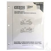 Service Manual for EZGO PDS & Electric 2001-2008
