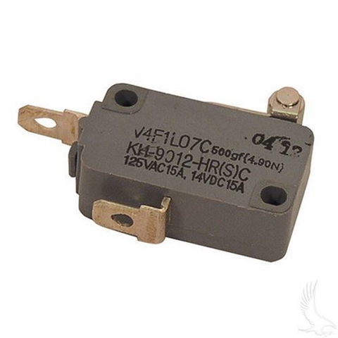 EZGO Micro Switch - 2 terminal (For 4-cycle Gas 1994+, Electric 1994+ Non-DCS)