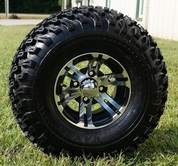 "BULLDOG 10"" Wheel and 22"" All Terrain Tire Combo"