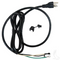 Club Car 3 prong plug AC Cord - PowerDrive Chargers (Fits 48V Electric 1995+)