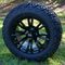 "14"" VOODOO Golf Cart Wheel and 23"" All Terrain Tires"