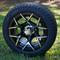"12"" EUROSPORT Wheel and Low Profile DOT 215/40-12 Tires"