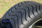 """Steeleng 12"""" RALLY Golf Cart Wheel and Low Profile Tire"""