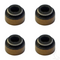Club Car DS/ Precedent Valve Stem Seal - Set of 4 (For Gas 1992-2003 FE290, FE350)