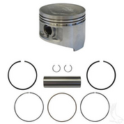 Club Car DS/ Precedent Piston and Piston Ring Assembly - Standard (Fits 1992+)