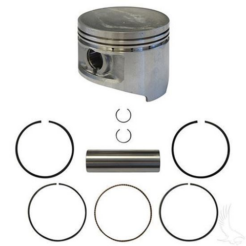 Club Car DS, Precedent Piston and Piston Ring Assembly - .50mm Oversized (Fits 1992+)