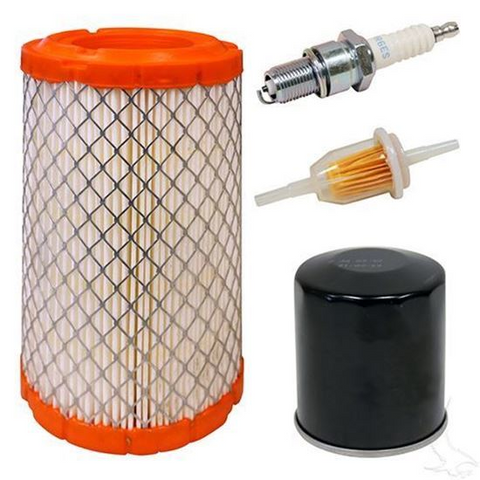 Club Car Precedent Tune Up Kit for 4-cycle w/ Oil Filter