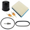 Club Car DS Deluxe Tune Up Kit for 4-cycle Gas (1992-1993, 1995-1996 w/ Oil Filter)