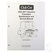 club car precedent gas maintenance & service manual (for precedent gas  2009-2011)