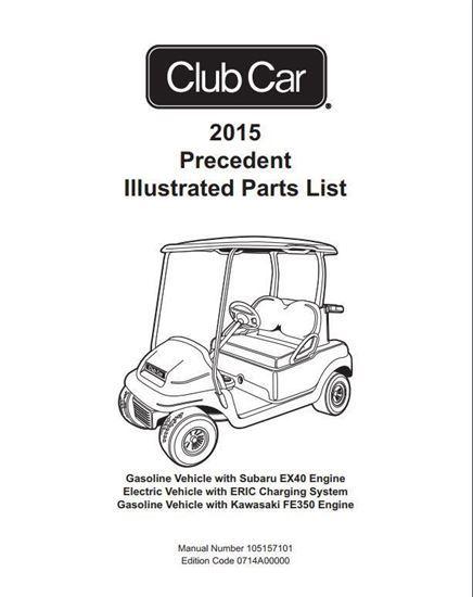 2010 Club Car Precedent Parts Diagram