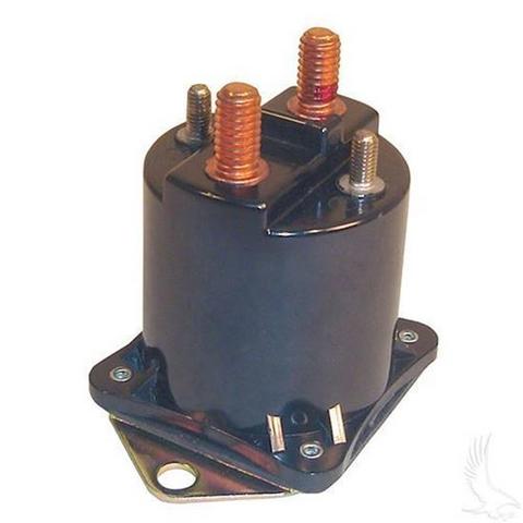 Club Car 36-Volt 4-Terminal Copper Solenoid (For 36V Electric 1988-2000, All V-Glide Models)