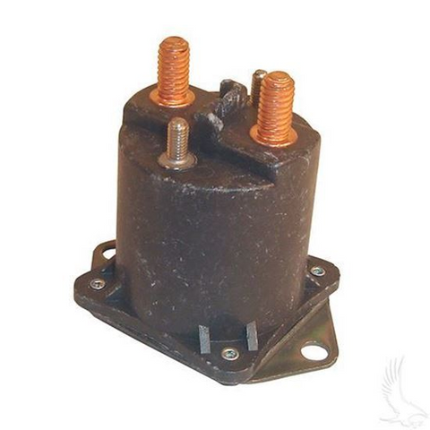 Club Car 48-Volt 4-Terminal Copper Solenoid (For 48V Electric 1995-1999)