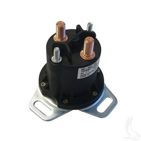 Club Car 48-Volt 4-Terminal Copper Heavy Duty Solenoid (For 48V Electric 1995-1999, Different Footprint)