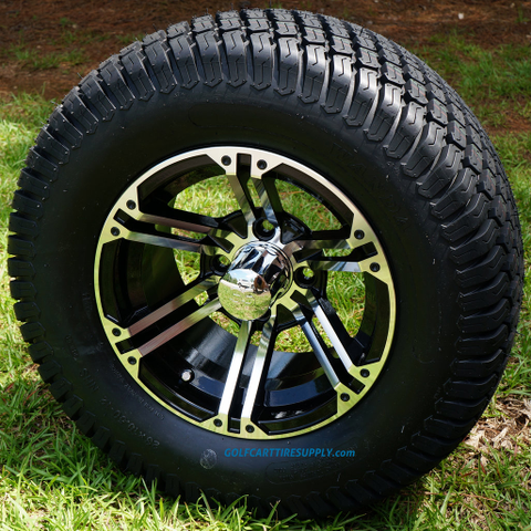 "12"" TERMINATOR Wheels and 23x10.5-12"" Turf Tires Combo"