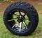 "KRAKEN 14"" Golf Cart Wheels and 23"" All Terrain Tires Combo"