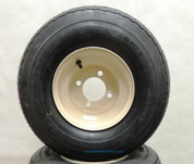 18x8.50-8 Beige Golf Cart Wheel and Tire Combo