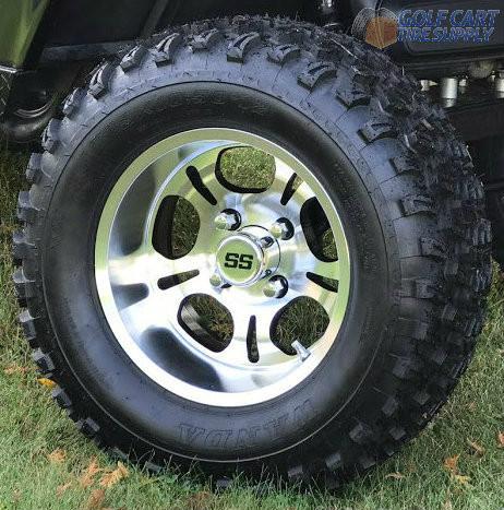 12 Quot Lightside Golf Cart Wheels And 23 Quot All Terrain Golf