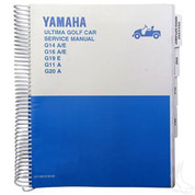 Yamaha G11/ G14/ G16/ G19/ G20 Service Manual (For 1995-2002)