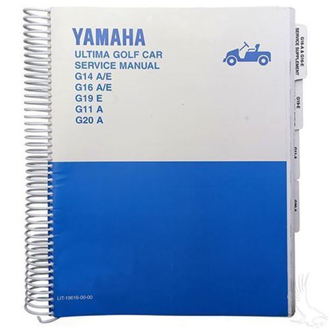 Yamaha G11/ G14/ G16/ G19/ G20 Service Manual (For 1995-2002)