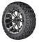 "14"" OMEGA Machined Aluminum Wheels and 23x10.5-12 All Terrain Tires Combo - PREDATOR"