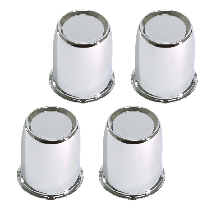 Chrome Golf Cart Wheel Center Caps 2 65 For Yamaha Ezgo Club Car Golf Cart Tire Supply