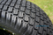 "10"" White Steel Golf Cart Wheels and 20x10-10 TURF DOT Golf Cart Tires - Set of 4"