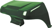 Club Car DS Golf Cart Body - Front Cowl - Dark Green (fits 1982+ Gas & Electric)