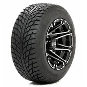 "STI HD3 Machined/ Black 10"" Wheels and Slasher GTX 205/50-10 DOT Tires"