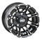 "STI HD3 Machined/ Black 10"" Wheels and Slasher GTX 205/50-10 DOT Tires"