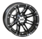 "HD3 Black 12"" Wheels and 205/30-12 DOT Low Profile Tires"