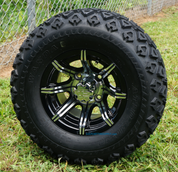 """10"""" SPIDER Wheels and 20x10-10"""" All Terrain Tires Combo"""