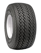 Duro Sawtooth 18x8.50-8 Tires 6-ply and Steel Golf Cart Wheels Combo