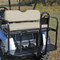 Rhino 700 Series SS EZGO RXV Golf Cart Rear Flip Seat Kit - Stone Beige