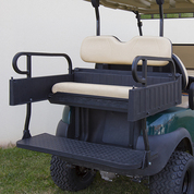 Club Car Precedent Aluminum Rear Seat / Cargo Box Combo Kit - BEIGE