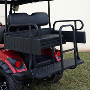Yamaha G29 / DRIVE Aluminum Rear Seat / Cargo Box Combo Kit - Black