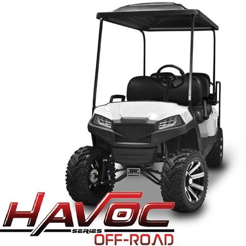 Yamaha Drive/G29 MadJax HAVOC Off Road Front Cowl w/ Fascia & Headlights - WHITE