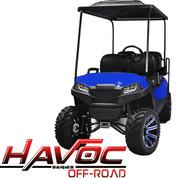 Yamaha Drive/G29 MadJax HAVOC Off Road Front Cowl w/ Fascia & Headlights - BLUE