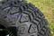 "10"" VAMPIRE Gloss Black Wheels and 20x10-10 DOT All Terrain Tires - Set of 4"