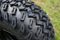 "10"" VAMPIRE Gloss Black Aluminum Wheels and 22x11-10 All Terrain Tires Combo - Set of 4"