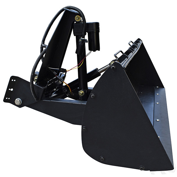 RHOX Heavy-Duty Golf Cart Front Loader Bucket (For EZ-GO