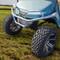 EZGO TXT Stainless Steel Golf Cart Brush Guard - 2014+