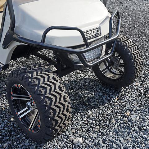 EZGO TXT Black Golf Cart Brush Guard - 2014+