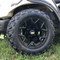 "12"" RALLY Gloss Black Aluminum Wheels and 20x10-12"" All Terrain Tires Combo - Set of 4"