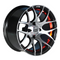 "14"" GTW Pursuit Machined/ Red Wheels and 205/30-14 DOT Tires Combo"