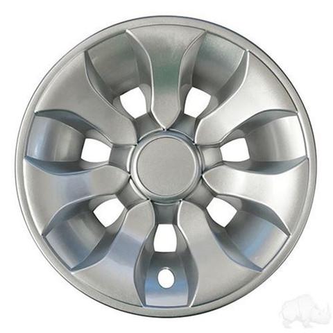"""8"""" Driver Silver Wheel Cover"""