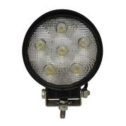 """RHOX 4.5"""" Golf Cart LED Utility Floodlight - 12V-24V (18 Watt / 1,350 Lumens, Fits All Carts)"""